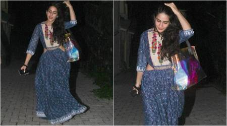 Sara Ali Khan's blue maxi dress is the perfect solution to beat the summer heat