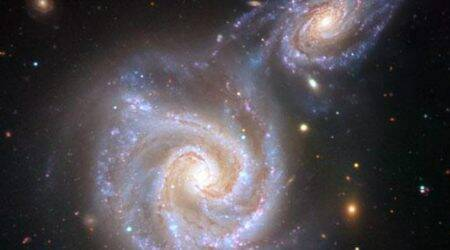 Cosmic collision with 'Sausage' galaxy reshaped Milky Way