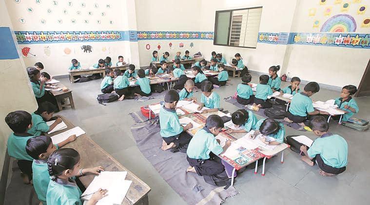 Karnataka government school, English medium, Bangalore