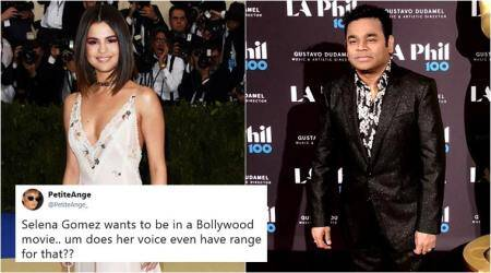 Selena Gomez wishes to collaborate with AR Rahman for a Bollywood song, gets mixed reactions online