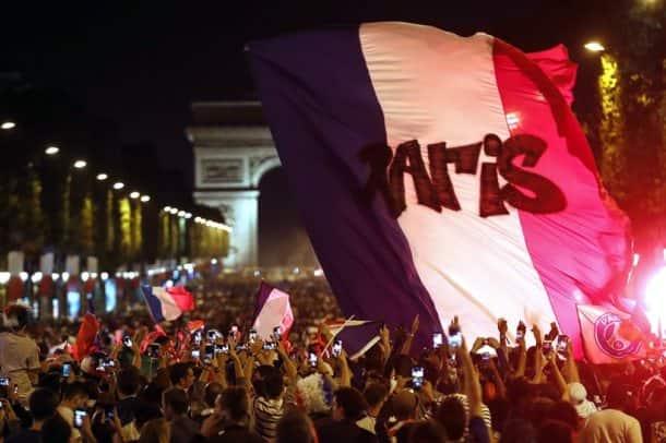 FIFA World Cup 2018: Paris celebrates as France advances to final