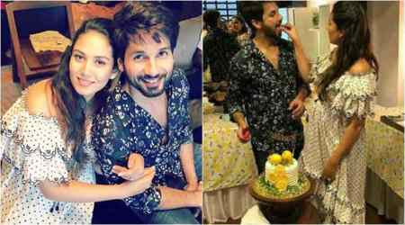 Shahid Kapoor's wife Mira Rajput glows at second baby shower