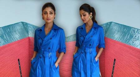 Shilpa Shetty's take on contemporary fashion is inspiring
