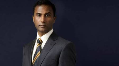 Shiva Ayyadurai punched in the face
