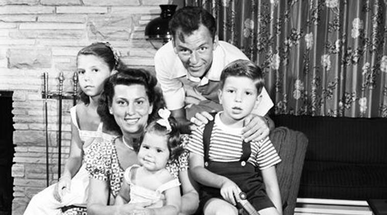 Frank Sinatra family images