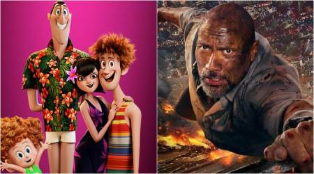 Hotel Transylvania 3 Summer Vacation tops charts, Dwayne Johnson's Skyscraper stumbles in US