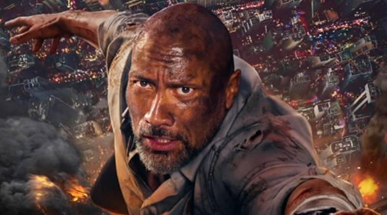 skyscraper review Dwayne Johnson