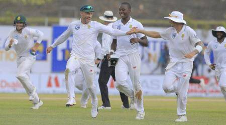 Sri Lanka vs South Africa 1st Test Day 1 Highlights: Sri Lanka bowled out for 287