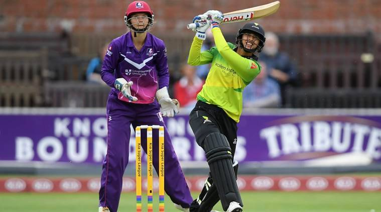 Mandhana equals fastest half-century in womens T20 cricket