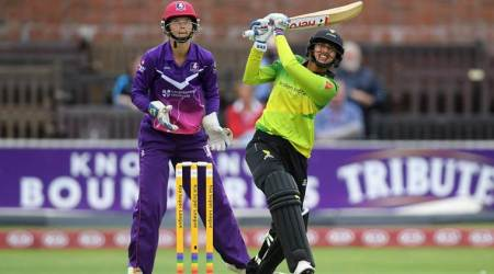 WATCH: Smriti Mandhana smashes 18-ball 50 for joint-fastest record in women's T20s