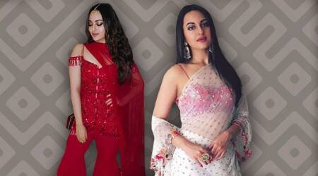 Sonakshi Sinha channelises Bollywood glamour in her outfits and it's worth a look