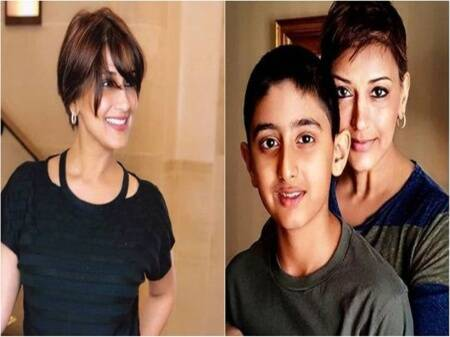 Sonali Bendre told her son about her cancer. When should you tell a child?