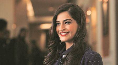 Sonam Kapoor wins brownie points for her purple eye make-up on this magazine cover