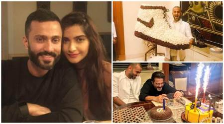 Sonam Kapoor husband Anand s Ahuja birthday inside photos