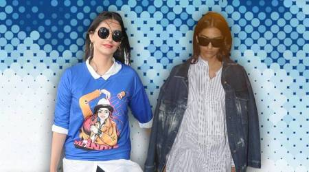 Looks like Sonam Kapoor's in love with oversized shirts, but are they really flattering?