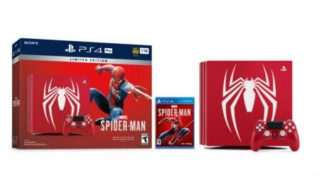 Sony Limited Edition Marvel's Spider-Man PS4 Pro Bundle announced, to be priced at $399