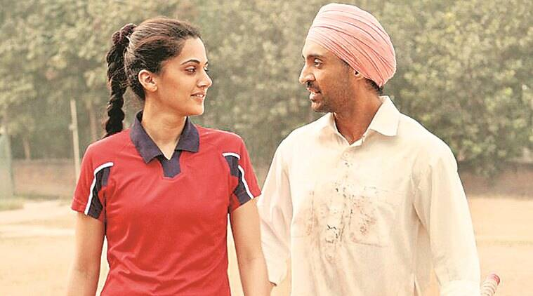 Soorma music review: A hit and a Miss, Tapsee Pannu and Diljit Dosanjh in a still from 'Soorma'.