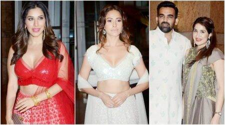 Sophie Choudry, Nushrat Bharucha, Sagarika Ghatge: Best and worst dressed celebs at Praful Patel's daughter's sangeet ceremony