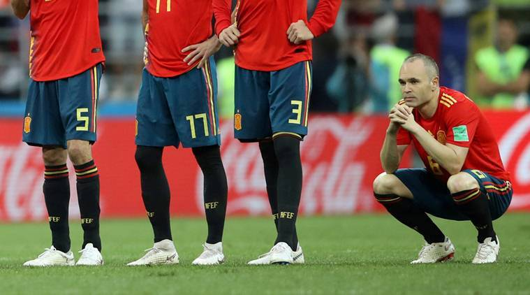 FIFA World Cup 2018, FIFA World Cup 2018 news, FIFA World Cup 2018 updates, Spain vs Russia, sports news, football, Indian Express
