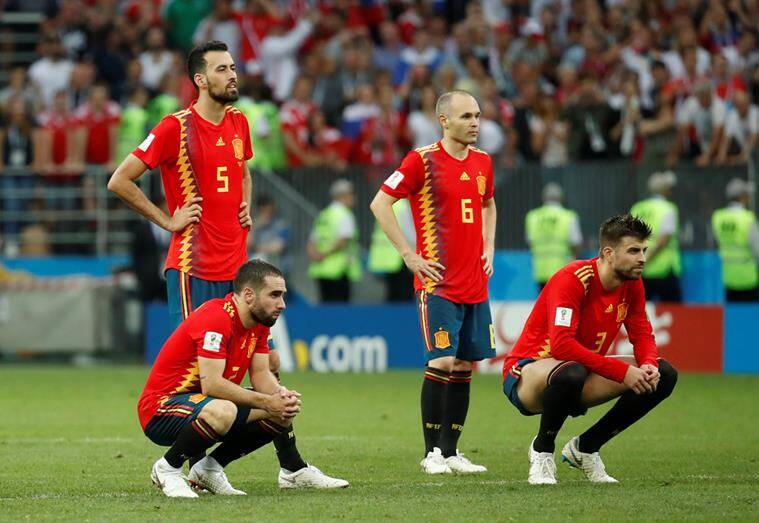 Spain Vs Russia Fifa World Cup Highlights Russia Beat Spain On 4