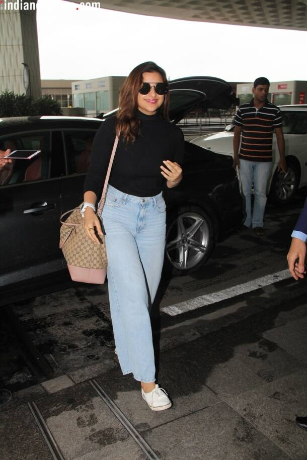 parineeti chopra spotted airport