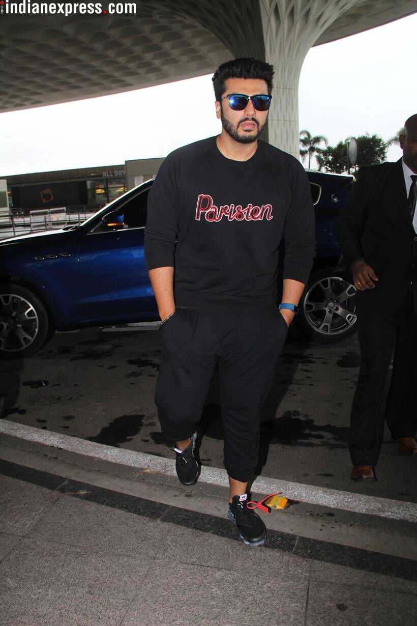 arjun kapoor at airport