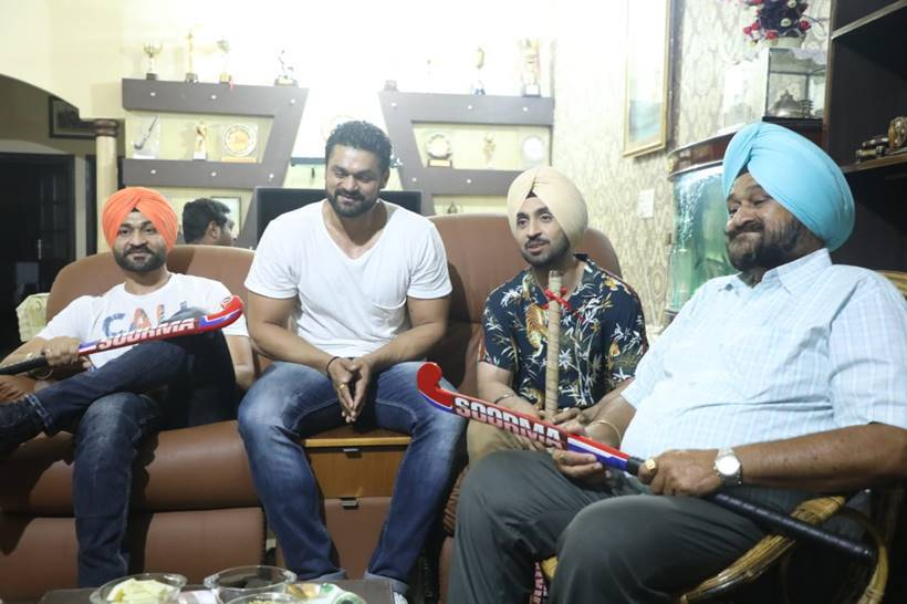 diljit dosanjh soorma promotions