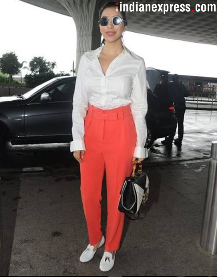 Pooja Hegde, Sophie Choudry, Pooja Hegde latest news, Sophie Choudry latest news, Pooja Hegde latest photos, Sophie Choudry latest photos, Pooja Hegde updates, Sophie Choudry updates, Pooja Hegde travel style, Sophie Choudry travel style, Pooja Hegde airport fashion, Sophie Choudry airport fashion, celeb fashion, bollywood fashion, indian express, indian express news