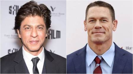 John Cena quotes Shah Rukh Khan, SRK thanks him for 'spreading the goodness'