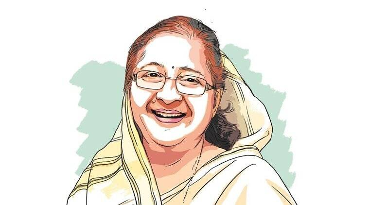 """Speaker Sumitra Mahajan said she would have to """"see a dictionary as to what is being referred to"""" there."""
