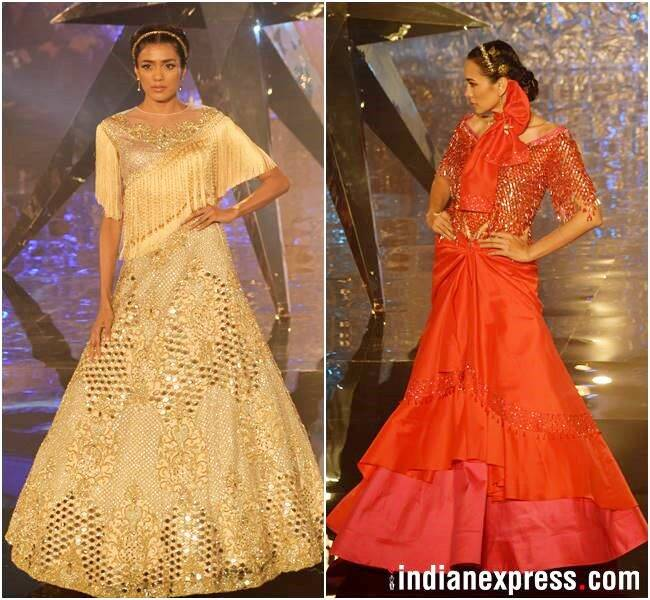Suneet Varma, India Couture Week 2018, Suneet Varma India Couture Week 2018, Naintara, Suneet Varma latest news, Suneet Varma updates, celeb fashion, bollywood fashion, indian express, indian express news