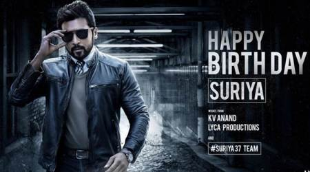 Suriya's look in KV Anand's film unveiled