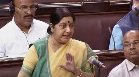 Hindu population in Bangladesh increasing: Sushma Swaraj in Rajya Sabha