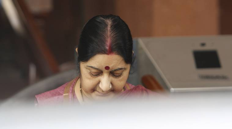 Kartarpur corridor: Pakistan invites Sushma Swaraj, she names two ministers instead