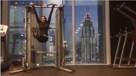 Sushmita Sen shares her 'absolute favourite' workout jam