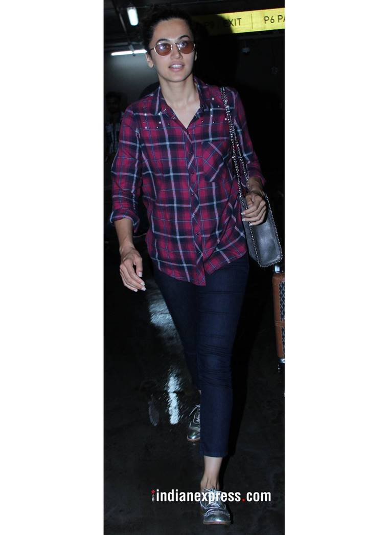 Deepika Padukone, Deepika Padukone latest photos, Deepika Padukone fashion, Deepika Padukone airport style, Alia Bhatt, Alia Bhatt latest photos, Kriti Sanon latest photos, Taapsee Paanu latest photos, indian express, indian express news