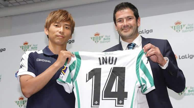Japan midfielder Takashi Inui gets embassy introduction