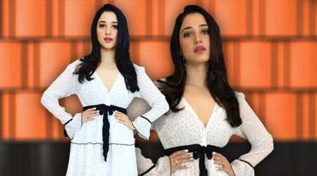 Tamannaah Bhatia shows how to ace the monochromelook