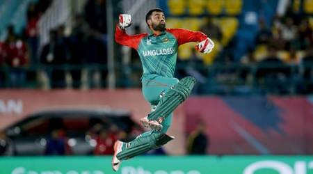 Tamim Iqbal ton helps Bangladesh beat West Indies 2-1 in ODIs