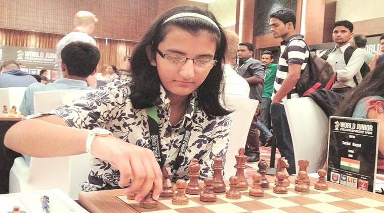 tarini goyal chess, commonwealth chess championship, FIDE ELO rating, chess under 18 category, indian express