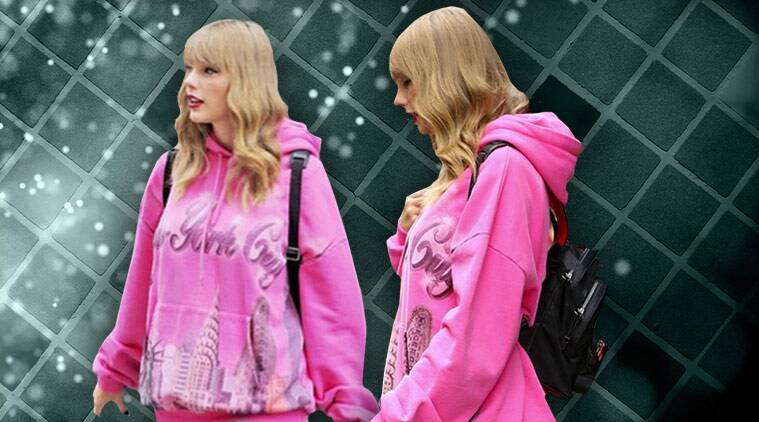 taylor swift, taylor swift in new york, taylor swift tourist in new york, indian express, indian express news