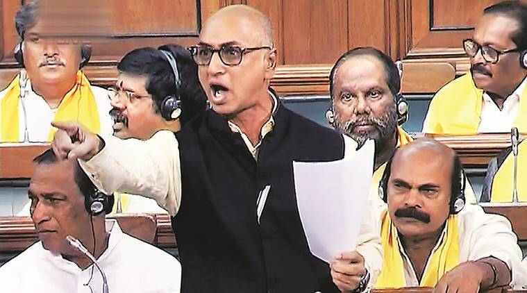Who is TDP MP Galla Jayadev
