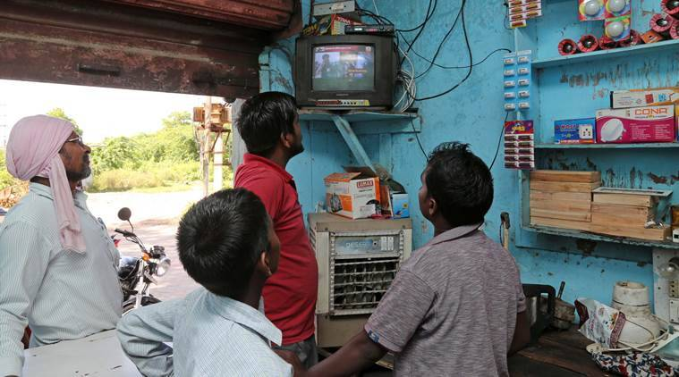 In India, 66 per cent households own TV sets