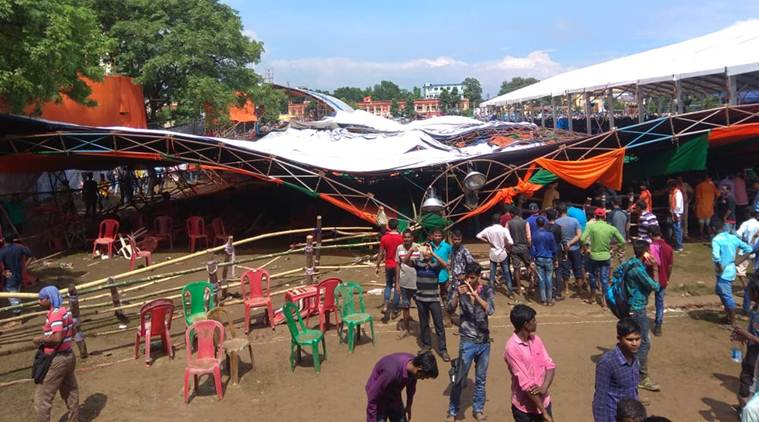 West Bengal: 15 injured as tent collapses in PM Modi's Midnapore rally,