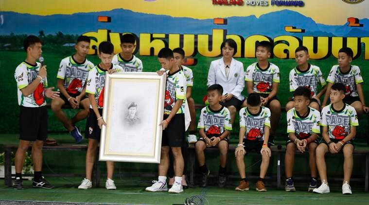 Thai cave boys were digging when they heard rescuers