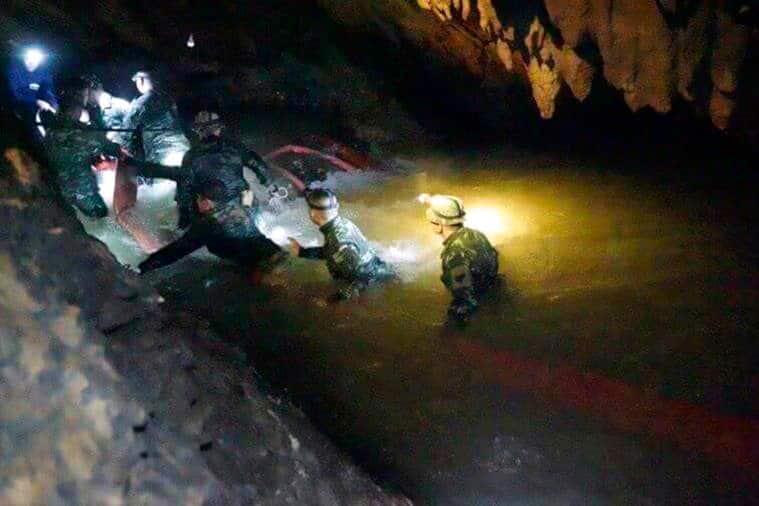 Thailand, Thailand cave rescue, Thailand news, Thailand flooding, Thailand boys recued, Thailand army, thailand cave, thailand missing soccer team, thailand rescue divers,