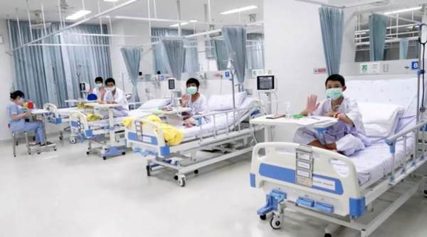 Thailand's cave boys to be discharged from hospital on Thursday