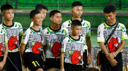 Seeking to protect boys, Thailand wants control over films on cave rescue