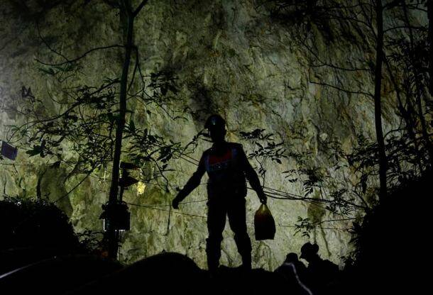 Long rescue ahead for Thai soccer team trapped in cave