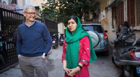 Apple to back Malala Fund activities for girls' education in Brazil,India